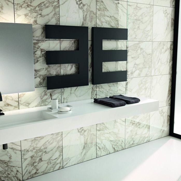 Heißwasser-Heizkörper   elektrisch   aus Stahl   modern PETTINE by - heizkorper modern wohnzimmer