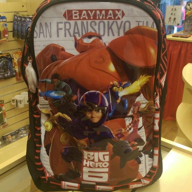 """Excellent quality big hero 6 rucksack ideal flight bag or school bag £10 off today, was £36 now £26! #bighero6 #baymax #schoolbag"" Photo taken by @diversionsgifts.co.uk on Instagram, pinned via the InstaPin iOS App! http://www.instapinapp.com (07/01/2015)"