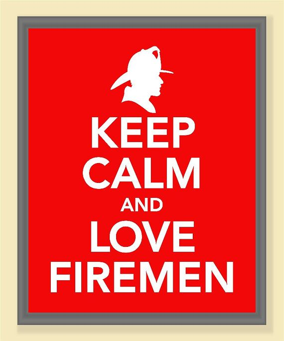 Fire Department Clothing Firefighter T Shirts Workshirts Firefighter Love Keep Calm And Love Fireman