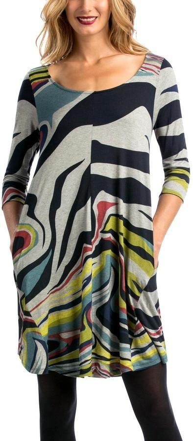 EYE ON FASHION Multi Colorful Dress