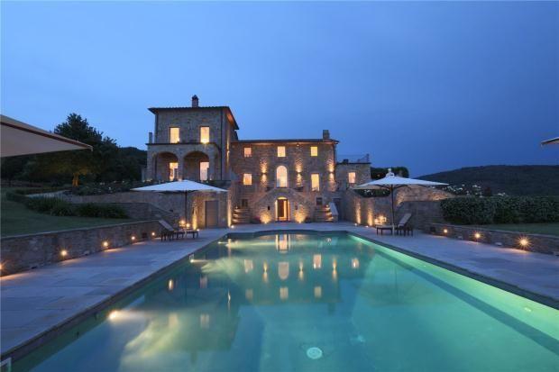 Villa Lavanda, Lisciano Niccone, Umbria, Italy. Next to