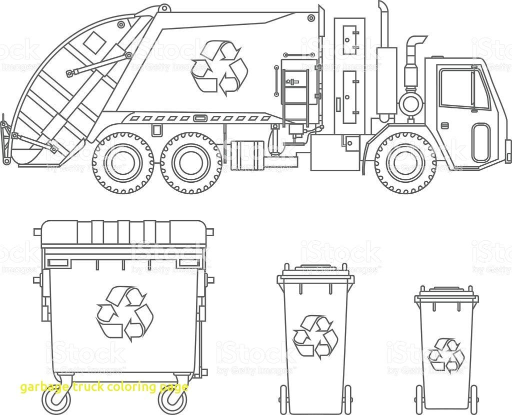 Garbage Truck Coloring Page 7 Mapiraj And