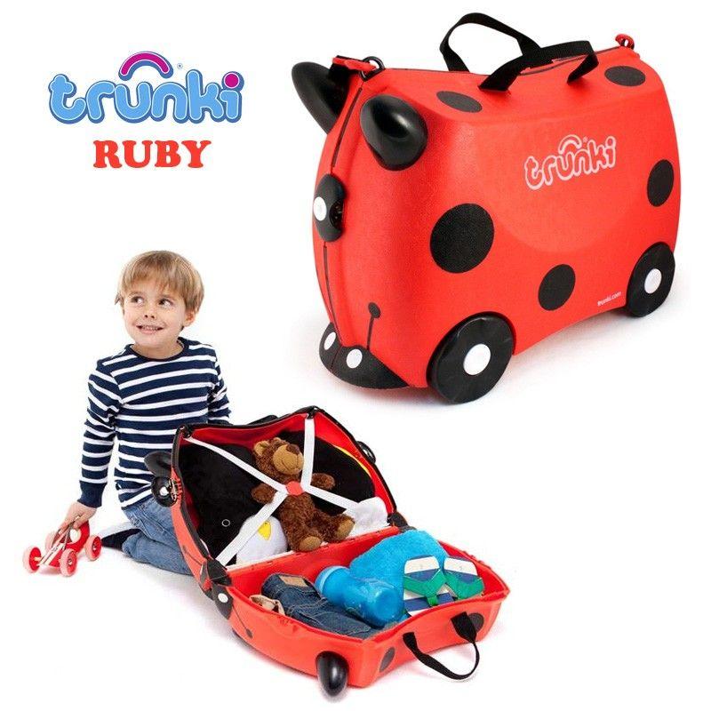 eShopCuracao Trunki Luggage Suitcase, maleta para niños eShopCuracao Que viajar sea un placer para ellos tambien!