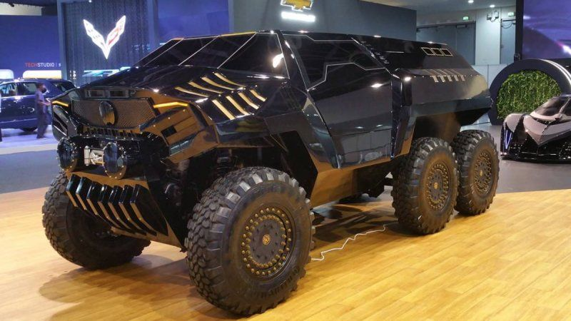 Devel Sixty 6x6 Suv Revealed In Dubai Vehicles Trucks Custom Trucks