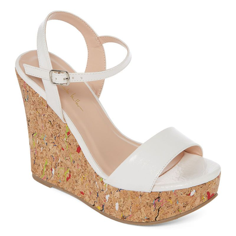 4ea00bf4852 N By Nicole Miller Valerie Womens Wedge Sandals