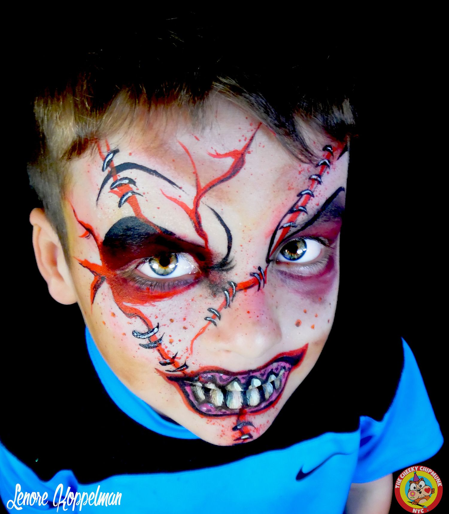 Face Painting Horror Chuckie Scary Halloween