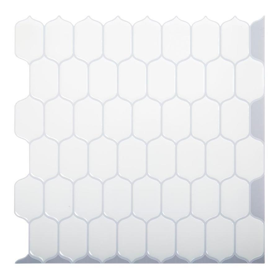 Inhome Metro Tile Peel And Stick Backsplash Lowes Com In 2021 Peel N Stick Backsplash Peel And Stick Tile Stick On Tiles