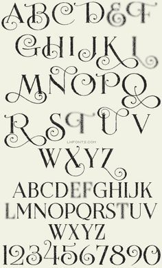 Lhf Encore Lovers Of Beautiful Calligraphy And Type Will