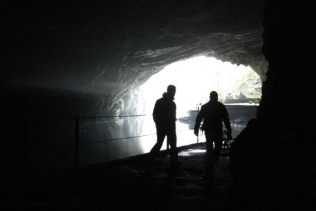 journey to the centre of the Earth? caving in Ljubljana...