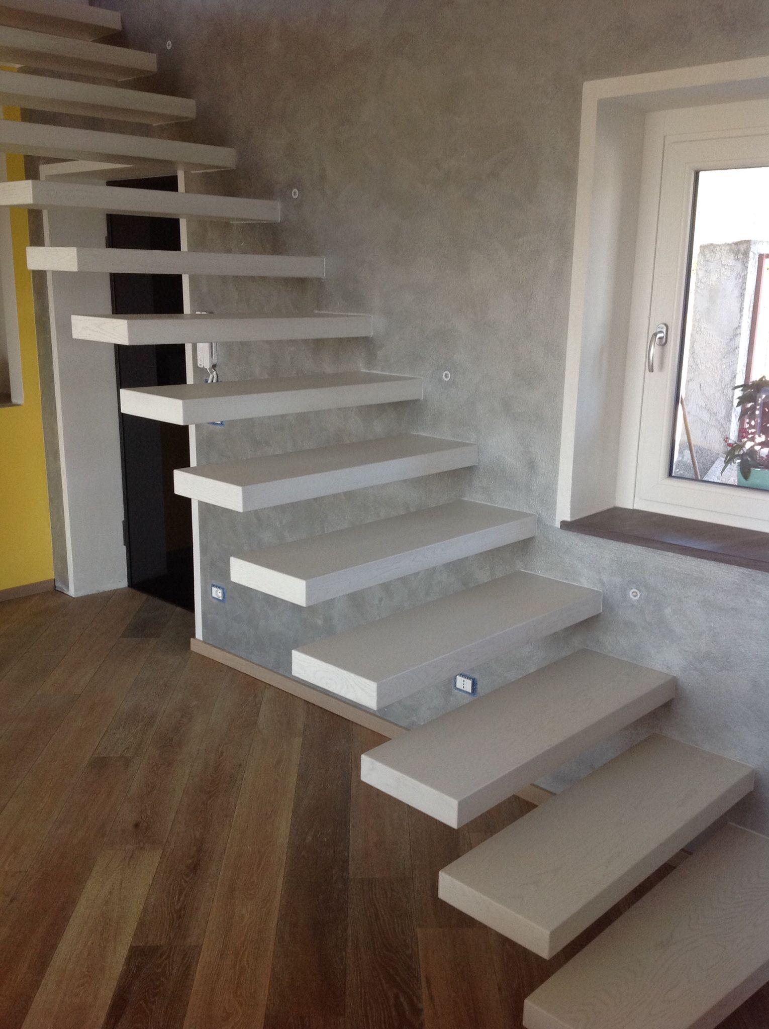 Scala a sbalzo lavori realizzati pinterest scale - Scale interne moderne ...