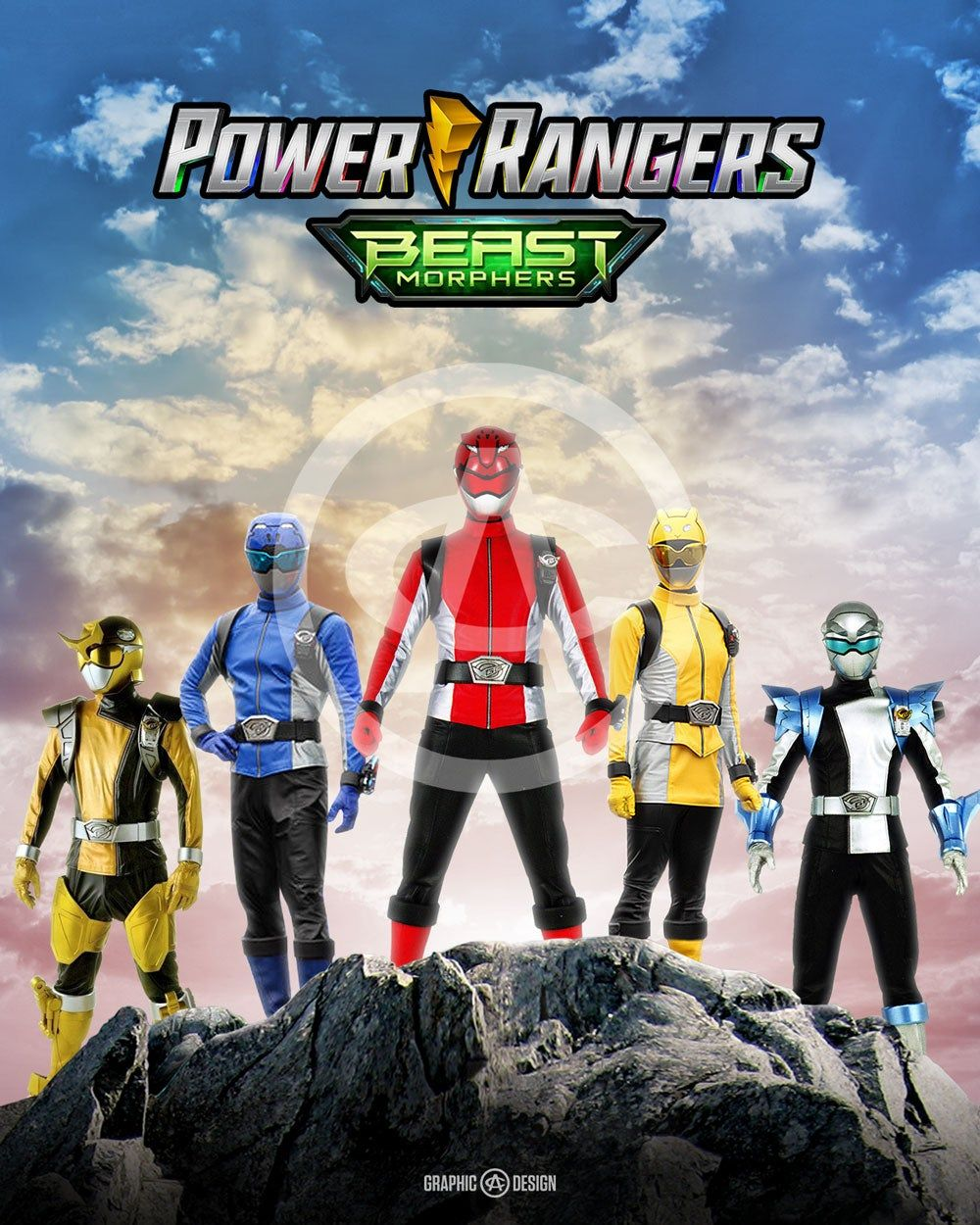 Legendary Power Rangers Beast Morphers Ranger Power Rangers Logo Power Rangers Megazord