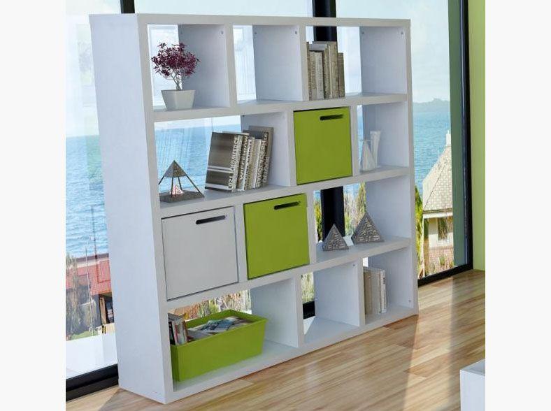 Elegant Modern TemaHome 4 Level / 150 Cm Berlin Shelving Unit In White Or Oak, Opt.