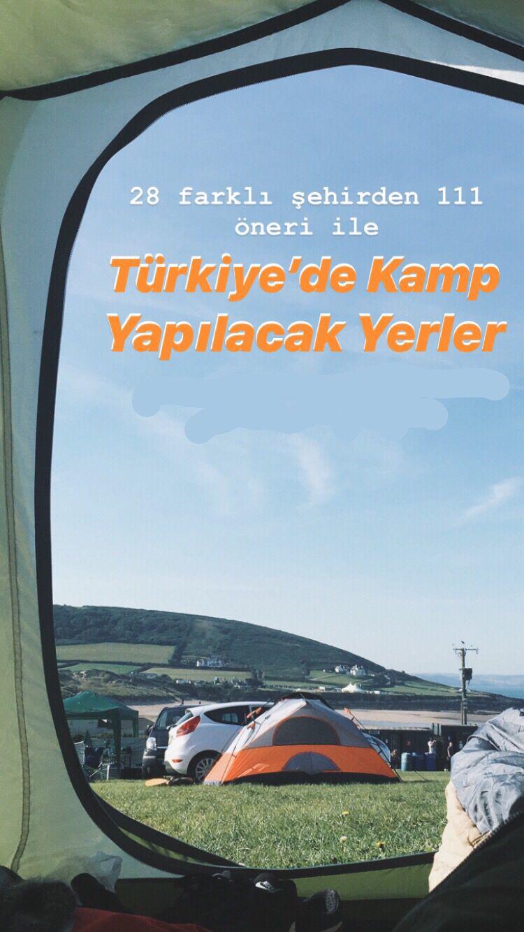 Türkiye'de Kamp Yapılacak Yerler