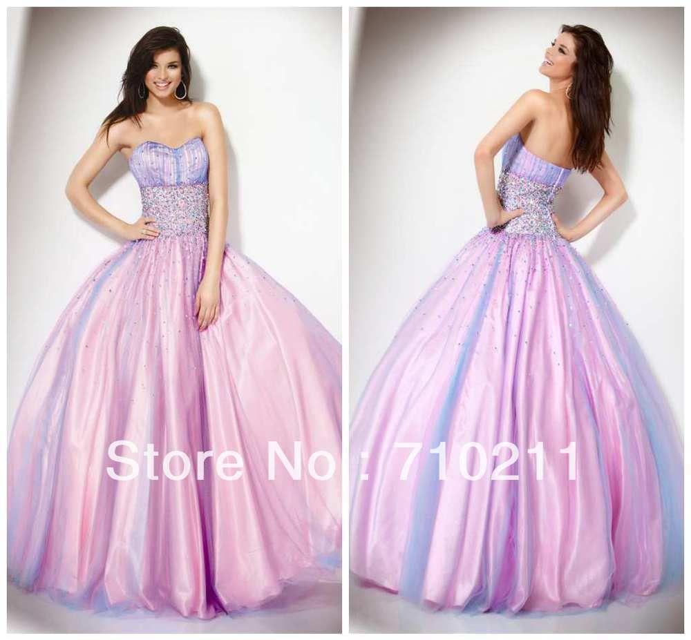 vestido fiesta largo para gorditas 2013 atractivo vestido de bola ...
