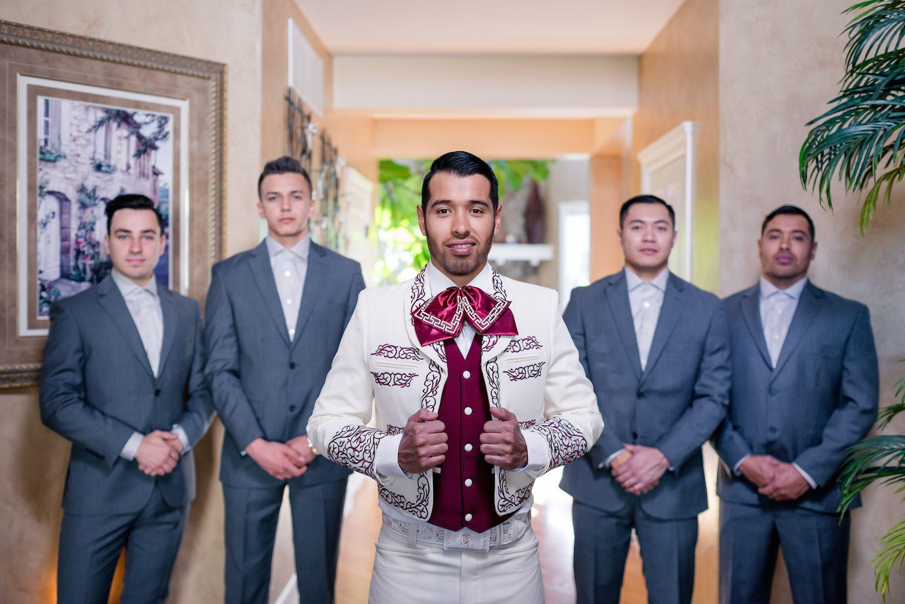 The groomsmen #groomsmen #weddingparty #wedding #groom #charro ...