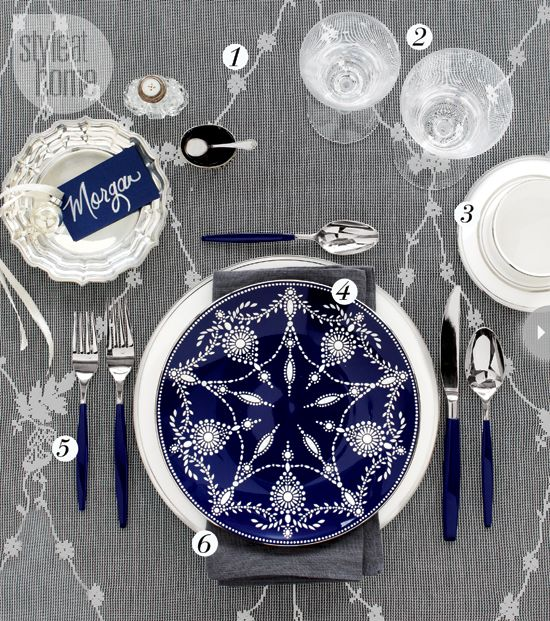 Tabletop Ideas | China patterns, Table covers and Flatware