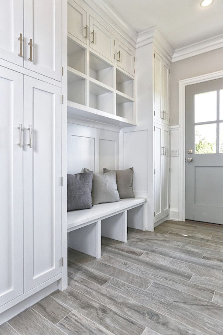 Creative Ways To Incorporate Built In Cabinetry Mudroom Cubbies
