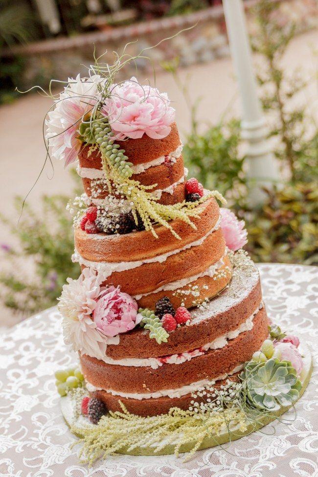 OMG DAS sind schönsten Naked Cakes für eure Hochzeit