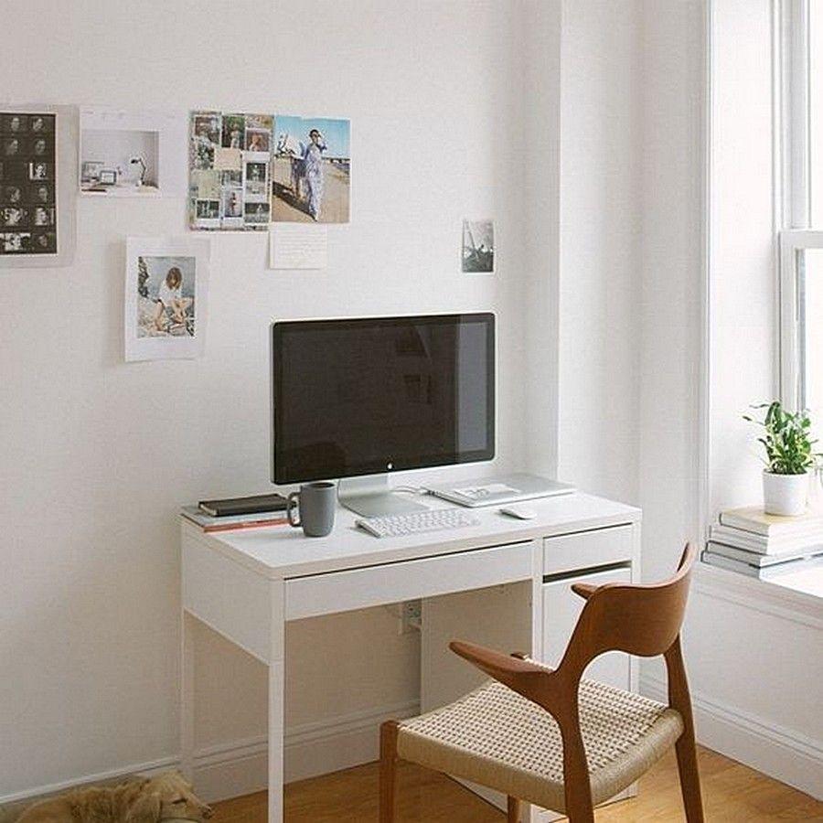 Pin By Kui Len On Bureau In 2020 Micke Desk Workspace Design