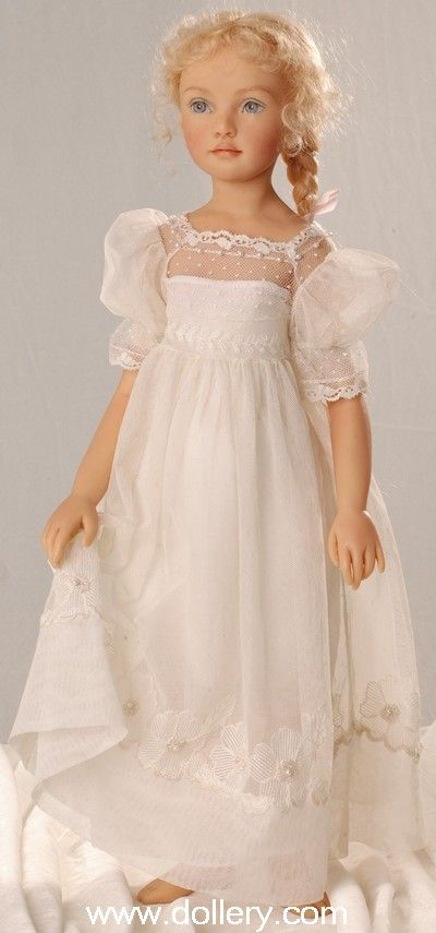 Sweet dress. Would want bloomers, slip and apron with this. As many layers as possible.