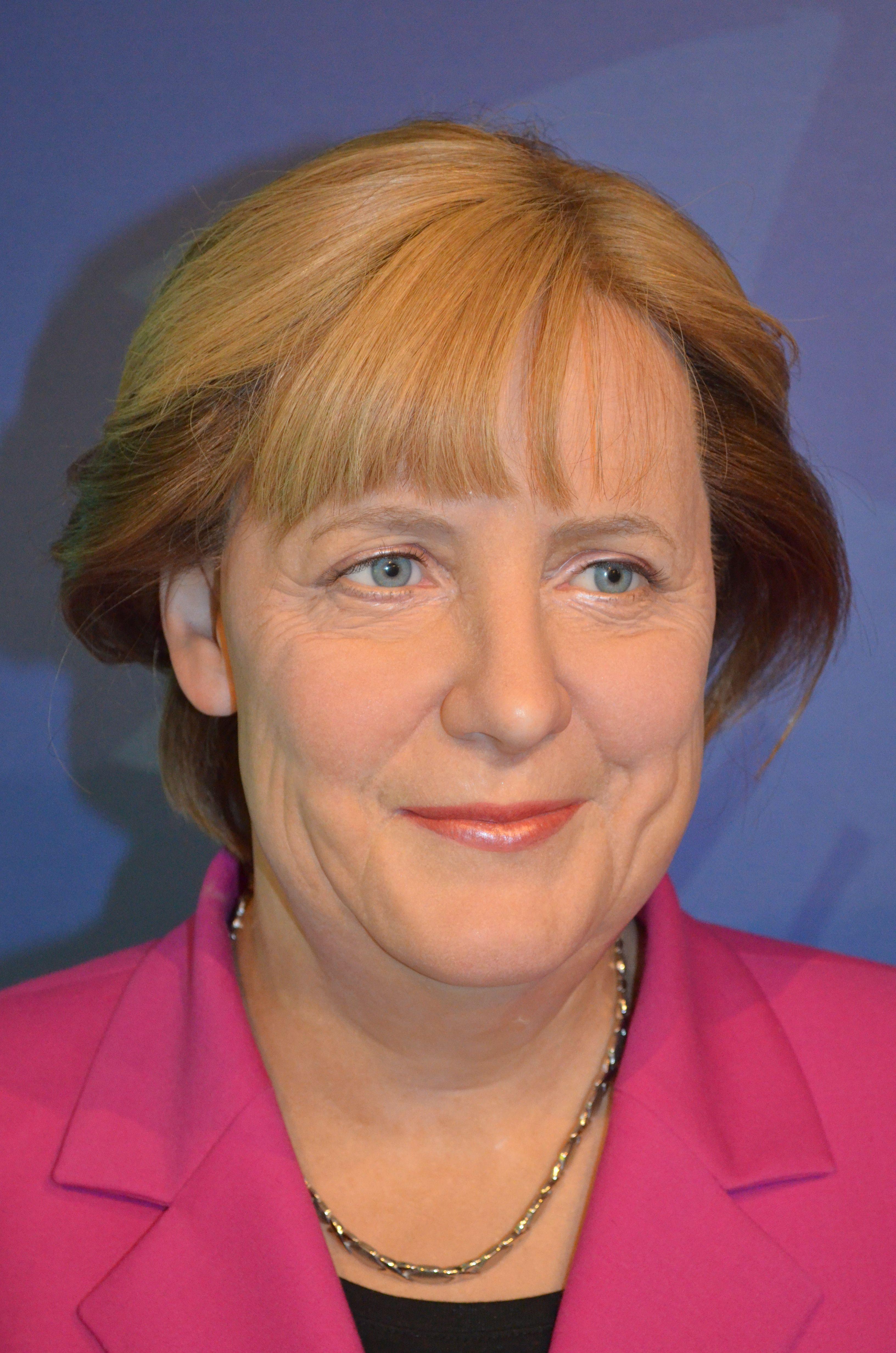 Angela Merkel Topless angela merkel   madame tussauds, angela merkel, face