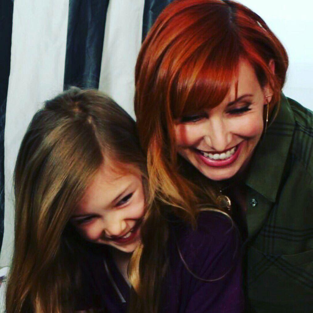Kari byron and her daughter may kari byron jpg 1014x1014 Kari byron bottom