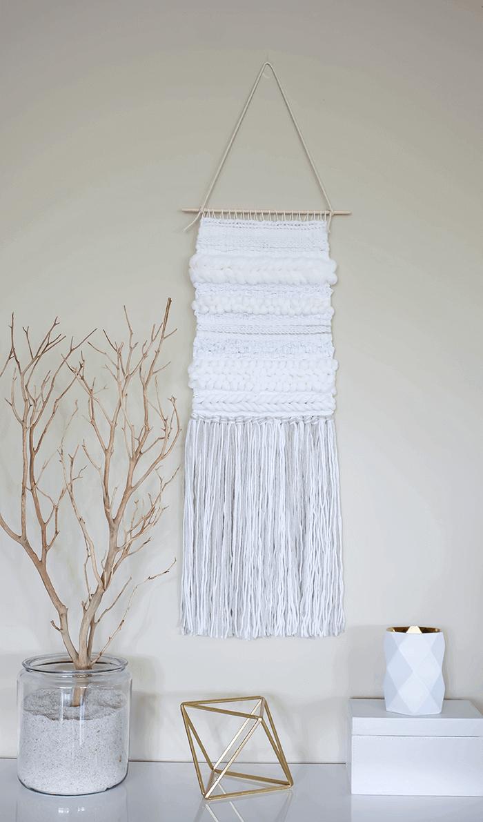 Diy Weaving Techniques Tejer Tapices Telas Tejidos En Telar