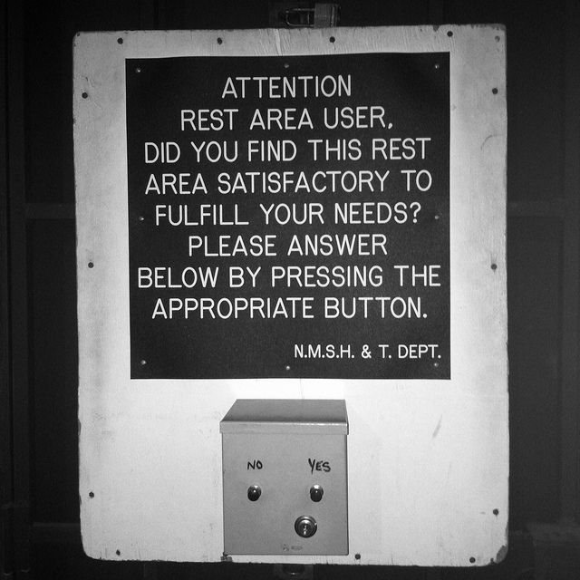 Polling Station by James A. Reeves, via Flickr #bw #us #culture — seriously #wtf! #smllove :)