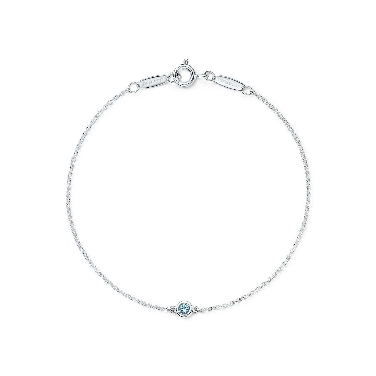 Elsa Peretti Color by the Yard bracelet in sterling silver with turquoise Tiffany & Co. 9YTB1ge