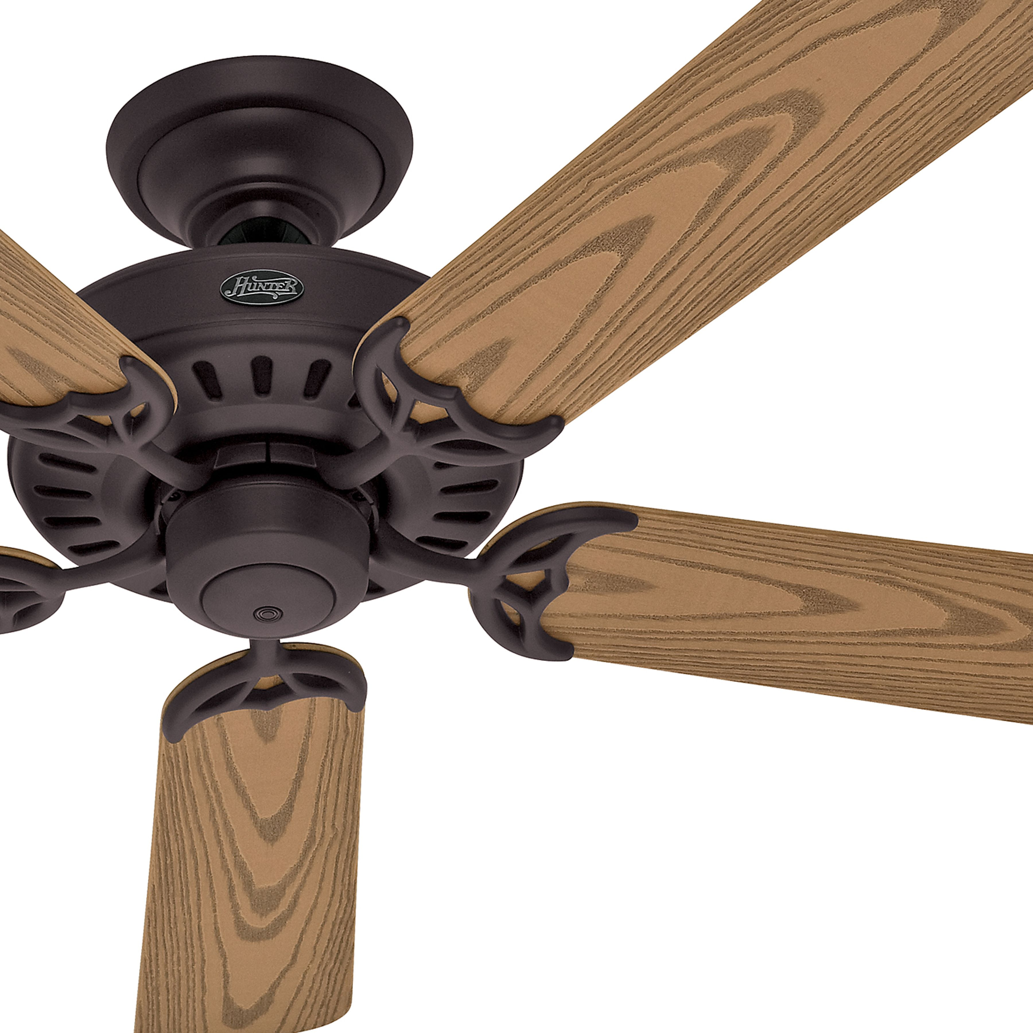 Hunter 52 Inch Outdoor New Bronze Finish Ceiling Fan Damp