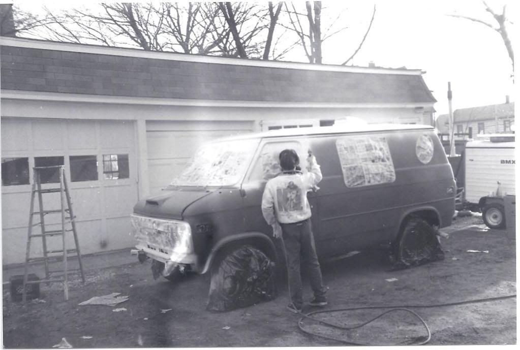 rollin heavy (crazy 70's custom van content)