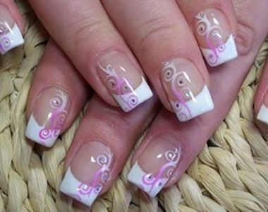 French nail design nails pinterest french nail design prinsesfo Image collections