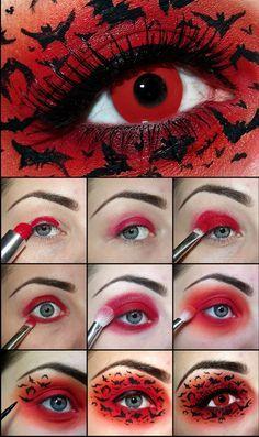 Eye makeup #Halloween