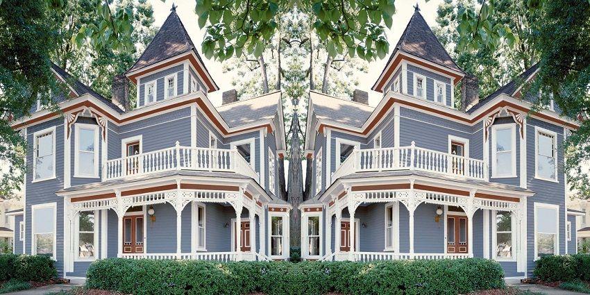 Exterior Paint Colors Victorian Houses