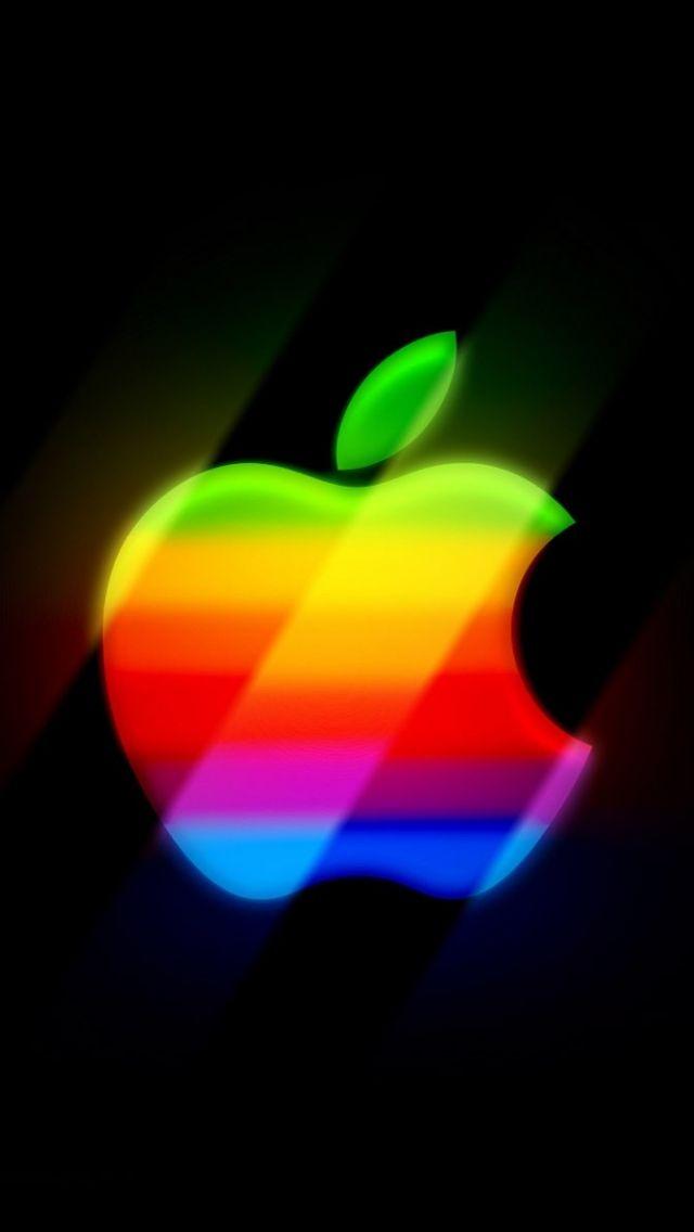 640x1136 Wallpaper apple, mac, colorful, bright Apple
