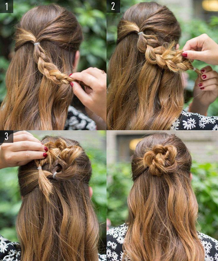 6 penteados fáceis para o dia a dia - Colleen Nel - 6 penteados fáceis para o dia a dia - Colleen Nel -