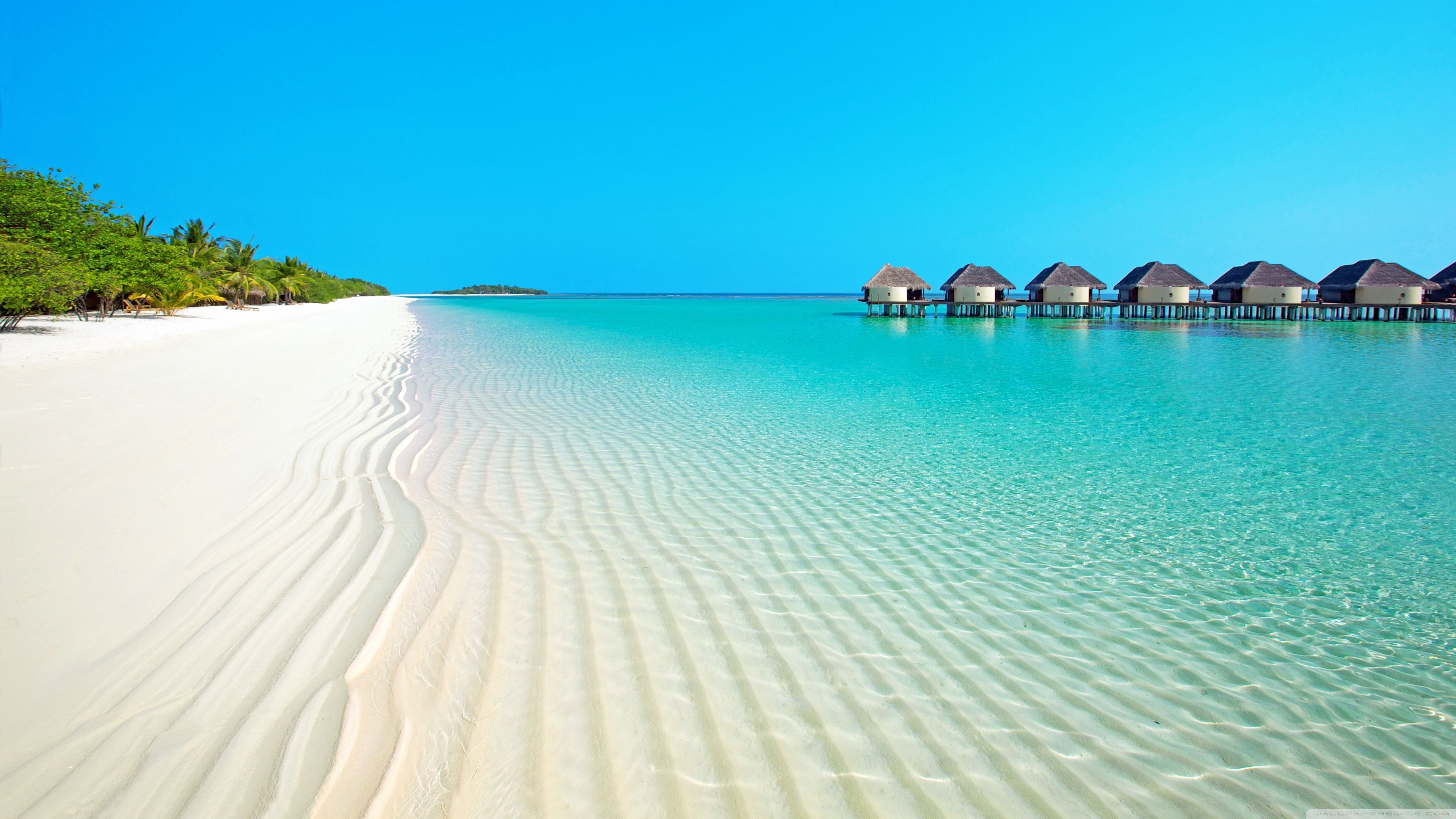 4k Ultra Hd Beach Wallpapers Top Free 4k Ultra Hd Beach Backgrounds Wallpaperaccess Beach Wallpaper Summer Facebook Cover Photos Beach Background Images