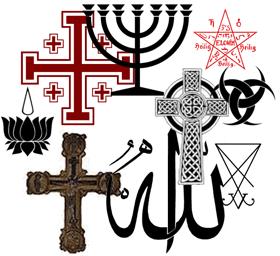 Símbolos Y Signos De La Religión Las Iglesias Y Creencias Su Significado Imagenes De Simbolos Simbolos Signos