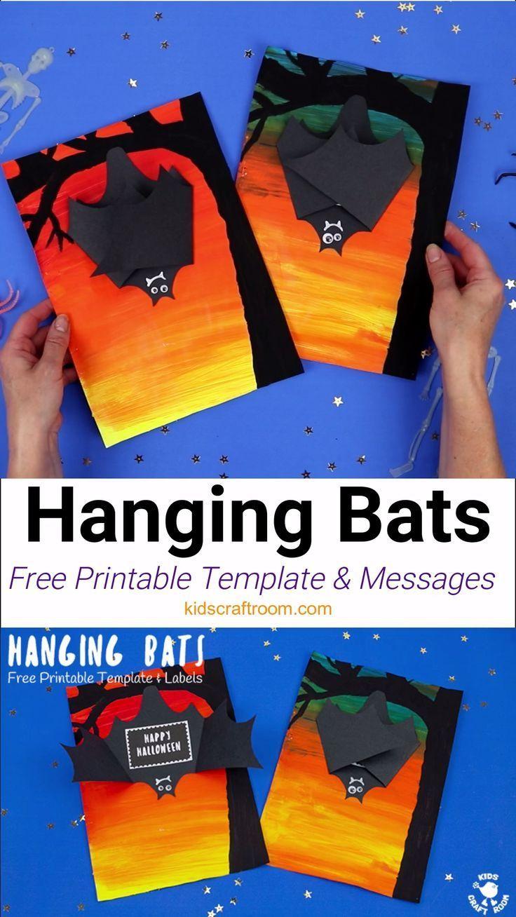 Hanging Bat Craft