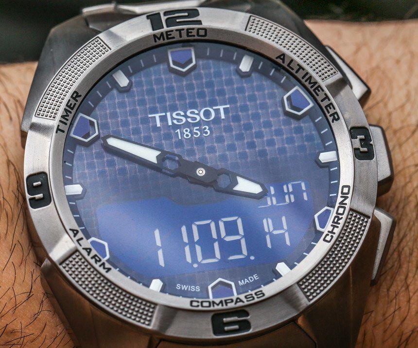 Tissot T Touch Expert Solar Watch Review Tissot T Touch Solar Watch Cool Watches