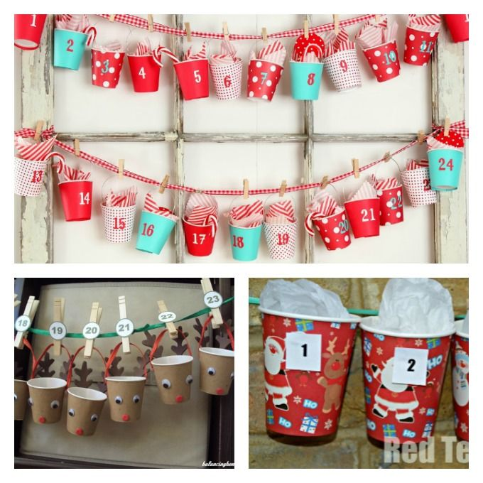 Here are some super cute ideas for turning foam or paper cups into