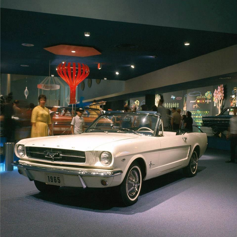 Mustang New York Worlds Fair 1964 65 Gm Vintage Mustang
