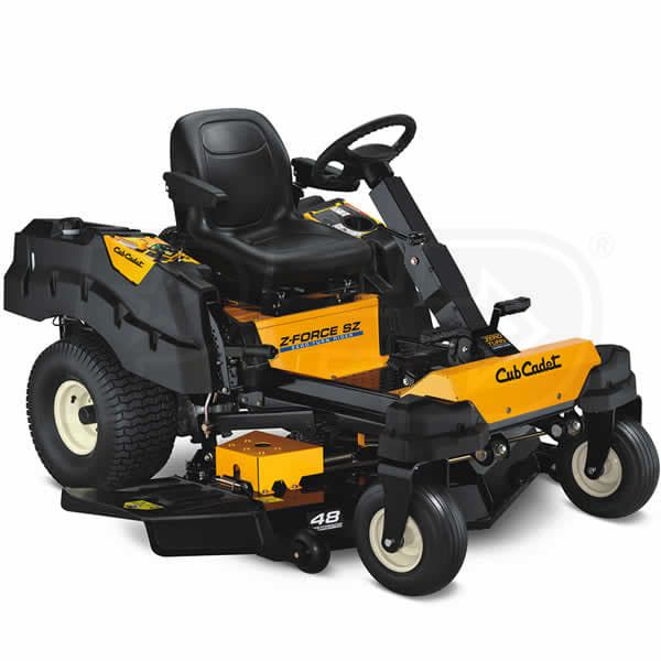 Check The Cub Cadet Z Force Zf S48 48 Inch 24hp Kohler Zero Turn Mower W Steering Wheel Ratings Before Checking Out