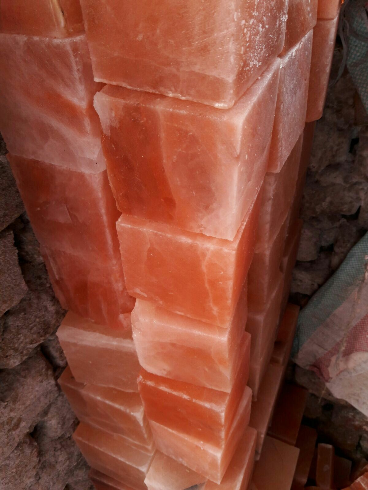 Horse lick blocks Www.saltrockpk.com #saltbrick #smallgoats ...