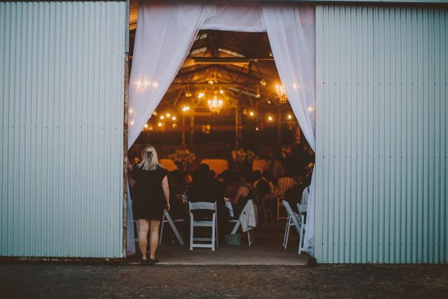 Glass Chandeliers & Shearing Shed :: Photo by The White Tree