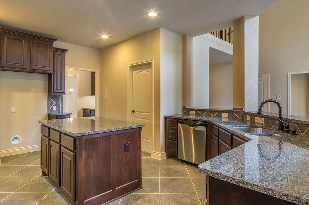 Perry Homes Design - 4,099 Sq. Ft. - Gourmet Kitchen   Bella Vista ...