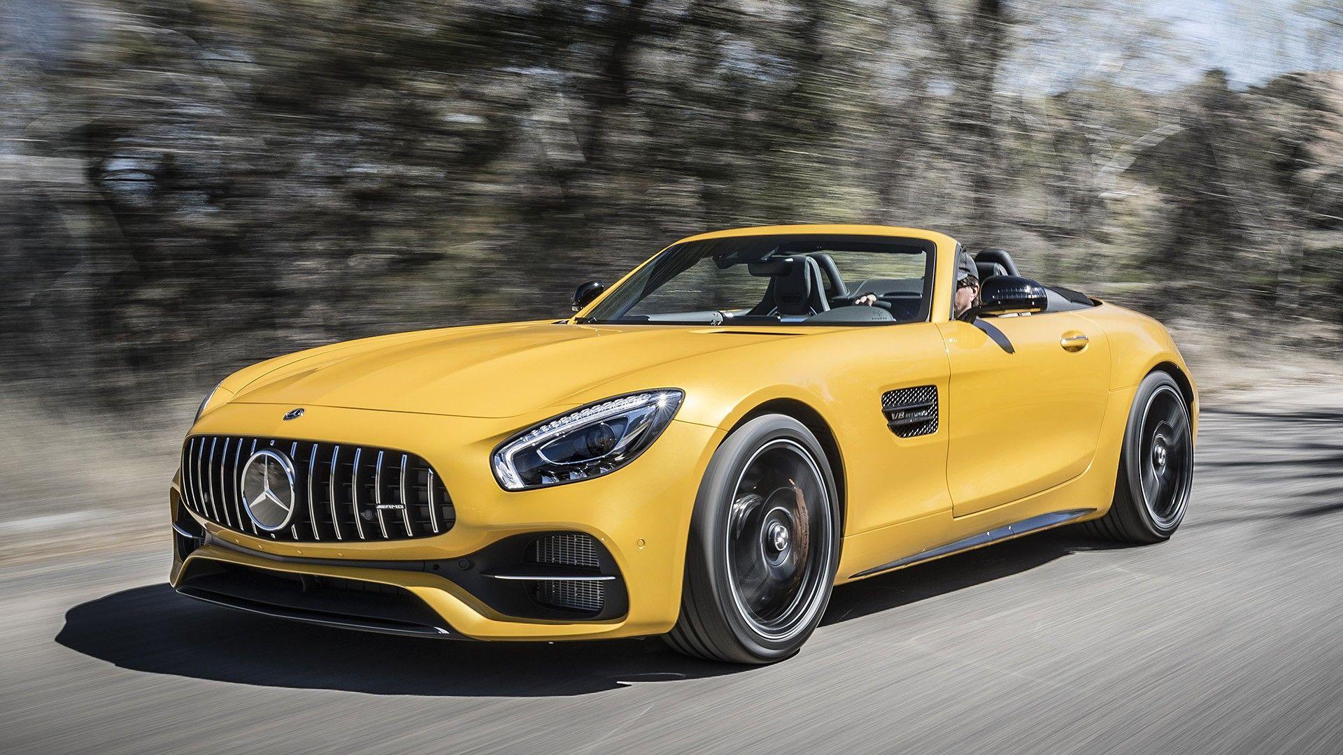 2018 Mercedes AMG GT C Roadster fav cars Pinterest