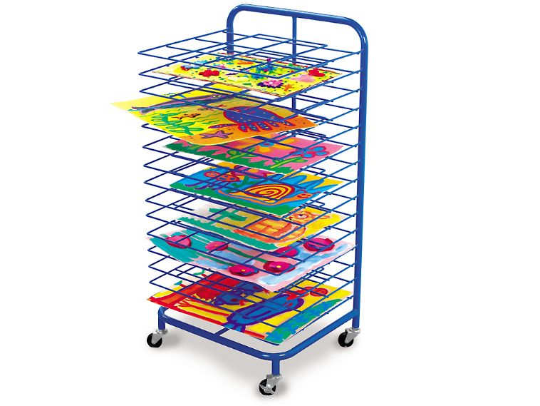 Lakeshore Double Space Mobile Drying Rack 159 Looks Sturdy But