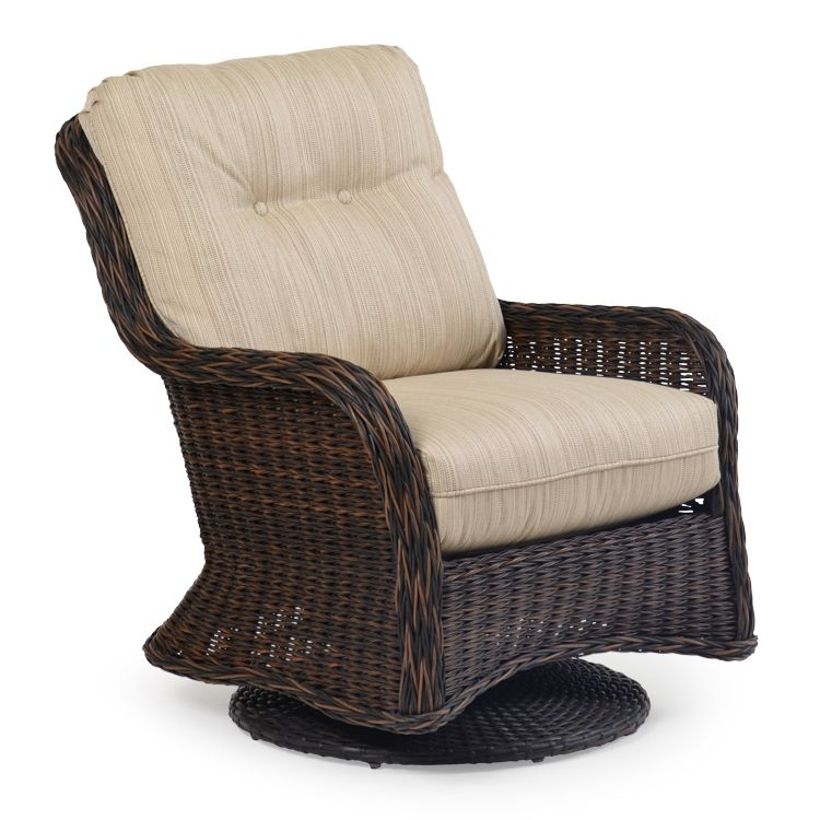 Maldives Outdoor Wicker Swivel Glider Leaders Casual Furniture Outdoor Wicker Outdoor Glider Chair Casual Furniture