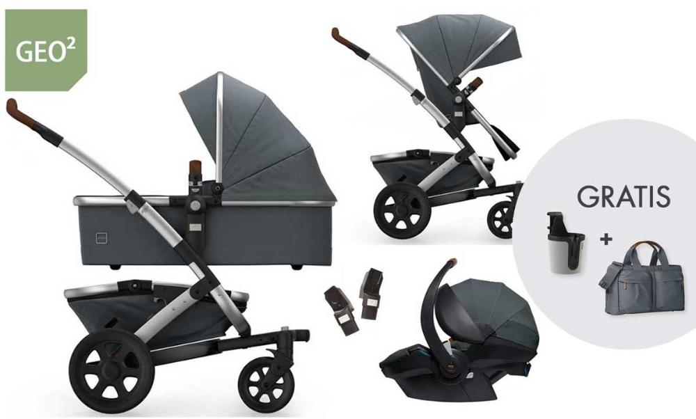 Joolz Geo 2 Set 3in1 Kinderwagen mit Joolz Babyschale